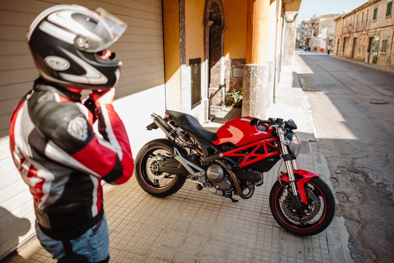 Reportaje fotográfico en moto
