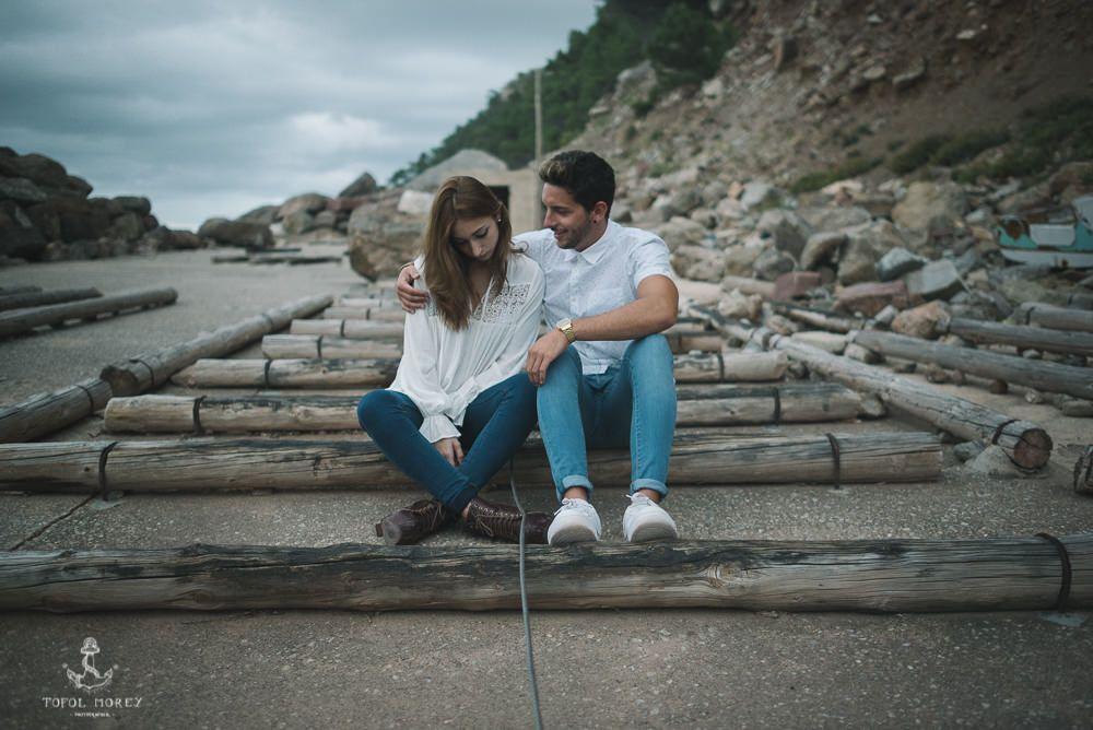 Reportaje fotográfico pareja Mallorca