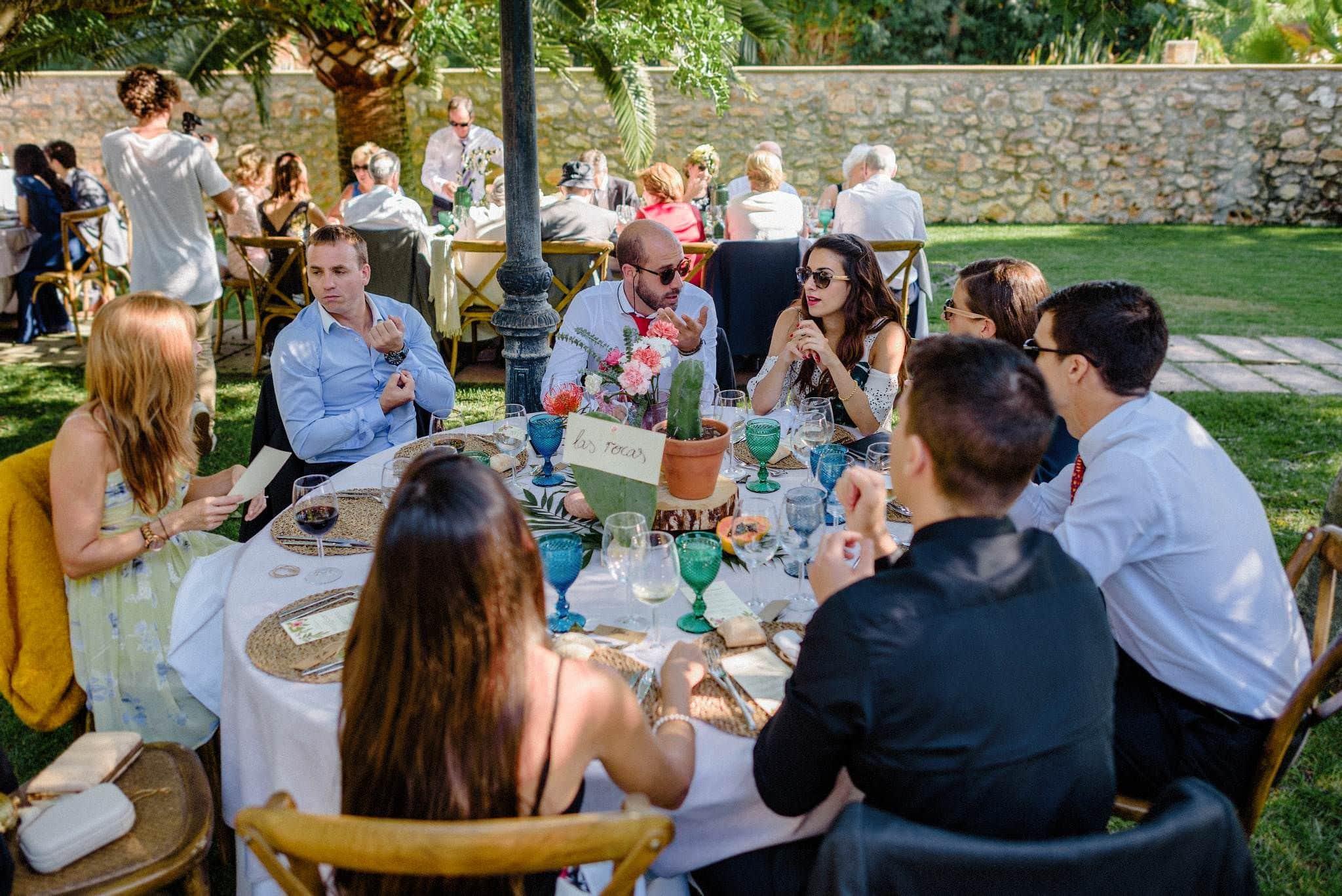 Wedding dinner Sa Bassa Rotja Mallorca
