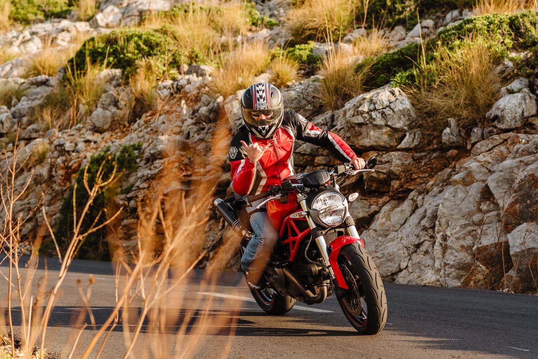 Reportaje fotográfico en moto mallorca