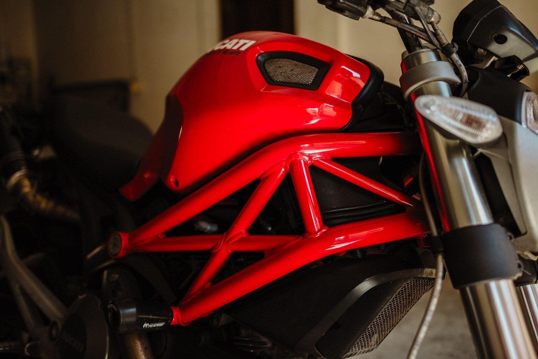 Reportaje fotográfico en moto.