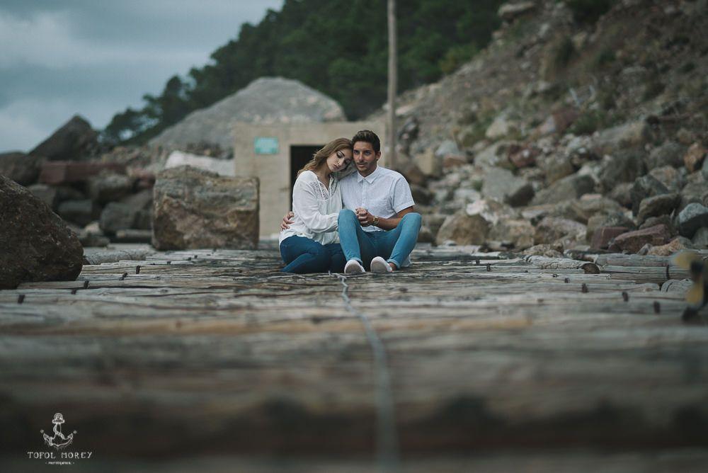 Sesión de pareja en Mallorca