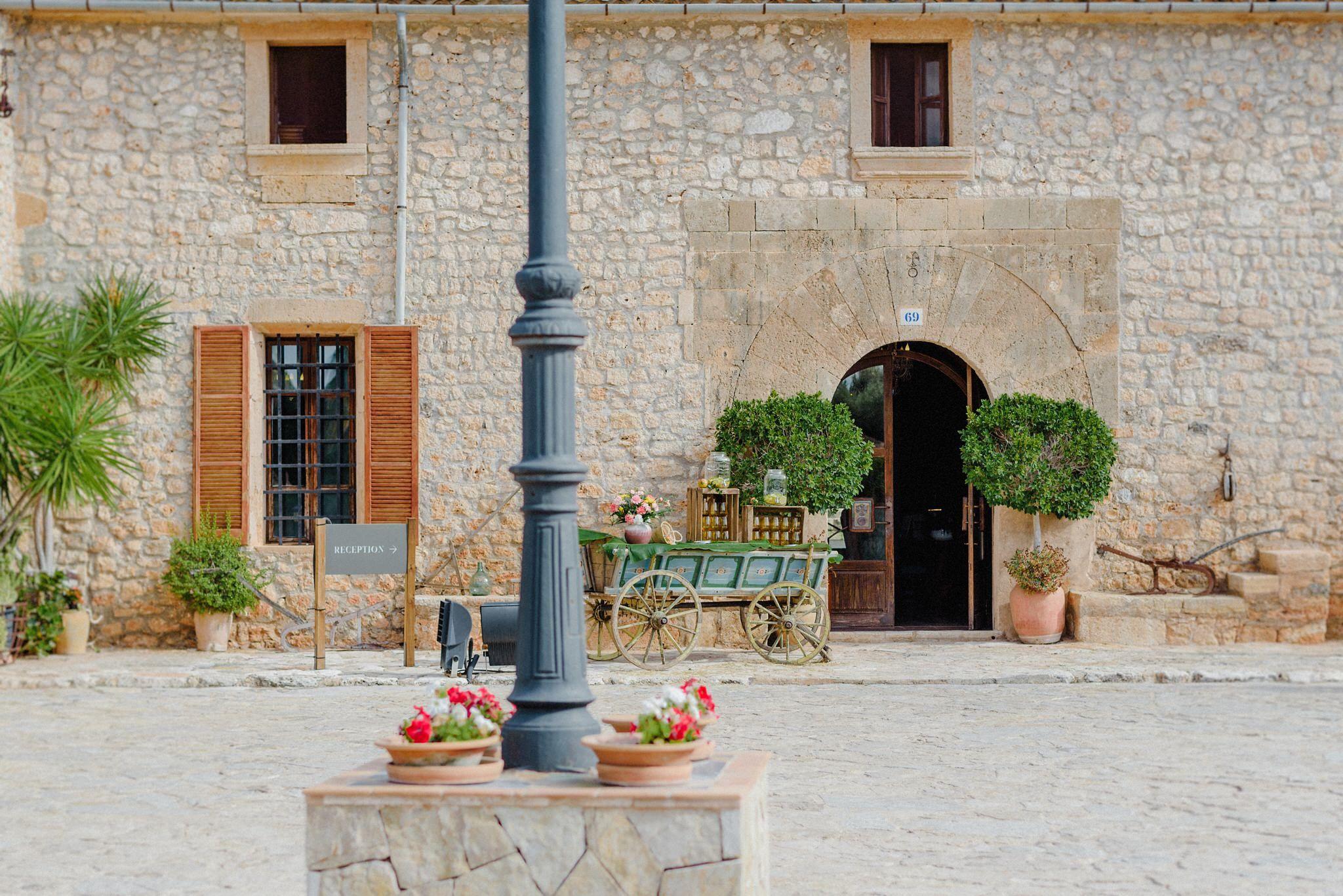 Boda en Sa Bassa Rotja, Mallorca