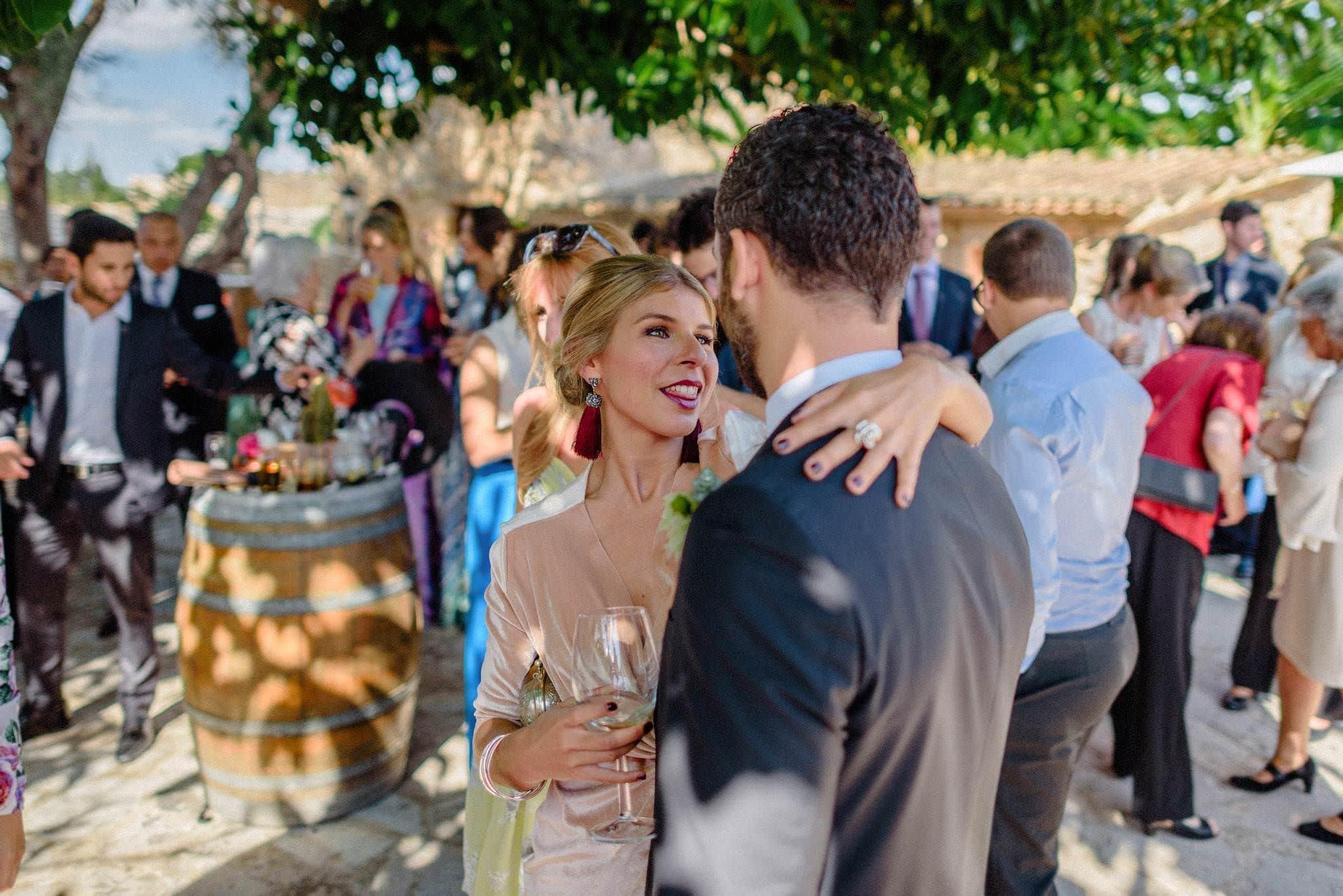 Cocktail boda Sa Bassa Rotja Mallorca