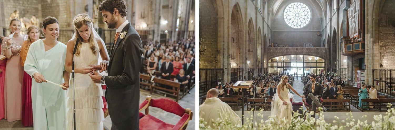 Boda en Basilica de Santa Maria del Pi Barcelona