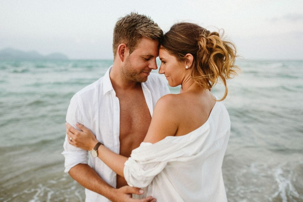 Pre boda en la playa Mallorca